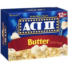 Act II Butter Popcorn, 2.75 oz, 12ct