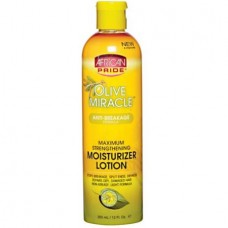African Pride Moisturizer Lotion Olive Miracle 12 fl. oz.