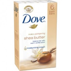 DOVE SHEA BUTTER BEAUTY BAR (6-PACK)