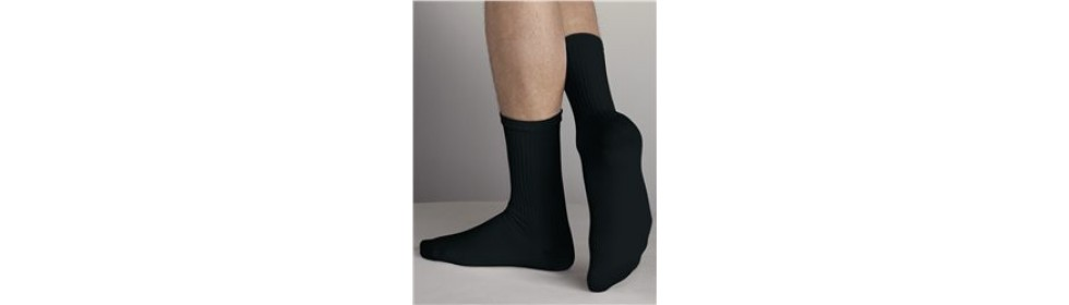 Gemrock Black Socks