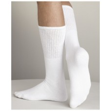 USA - Men's Tube Socks (6-Pack) Color: White