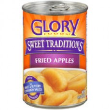 Glory Foods Fried Apples w/Sweet & Buttery Cinnamon Sauce- 14.5 oz.