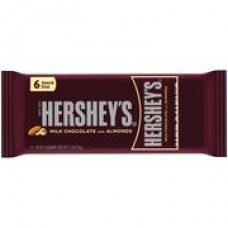 Hershey's w/Almonds Snack Size Candy Bars (2.7 oz. - 6-Pack)