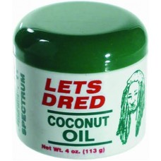 Lets Dred - Coconut Oil 4 oz.