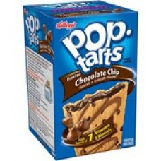 Kellogg's Pop Tarts - Frosted Chocolate Chip Toaster Pastries (14.7 oz. per 8 Count)
