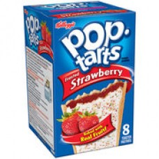 Kellogg's Pop Tarts - Frosted Strawberry Toaster Pastries (14.7 oz. per 8 Count)