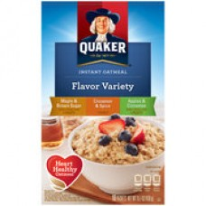 Quaker Instant Oatmeal - Flavor Variety Pack (15.1 oz. per 10 Pack)