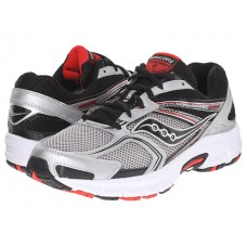 Saucony Cohesion 9 Color: Silver/Black/Red