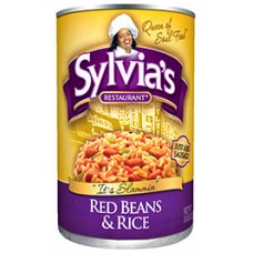 Sylvia's Restaurant Red Beans & Rice, 15 oz