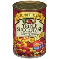 Margaret Holmes Triple Succotash With A Blend Of Tomatoes, Corn And Butter Beans, 14.5 oz